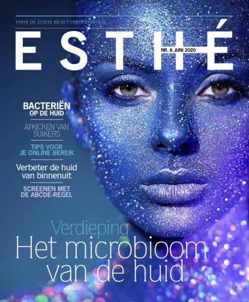 Microbioom en de huid cover esthe 6 2020